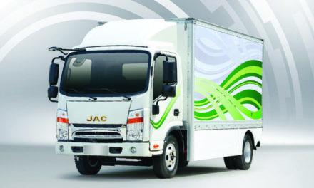 JAC inicia pré-venda de caminhão elétrico leve