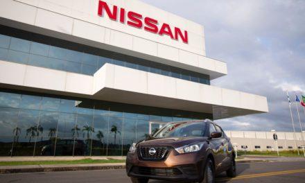 Nissan Kicks: 100 mil unidades produzidas no País.