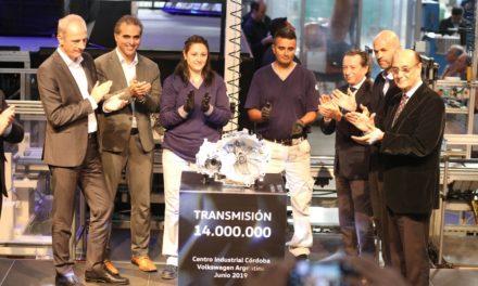 VW Argentina: 14 milhões de transmissões produzidas.