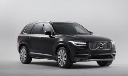 Volvo inicia produção do XC90 blindado de fábrica