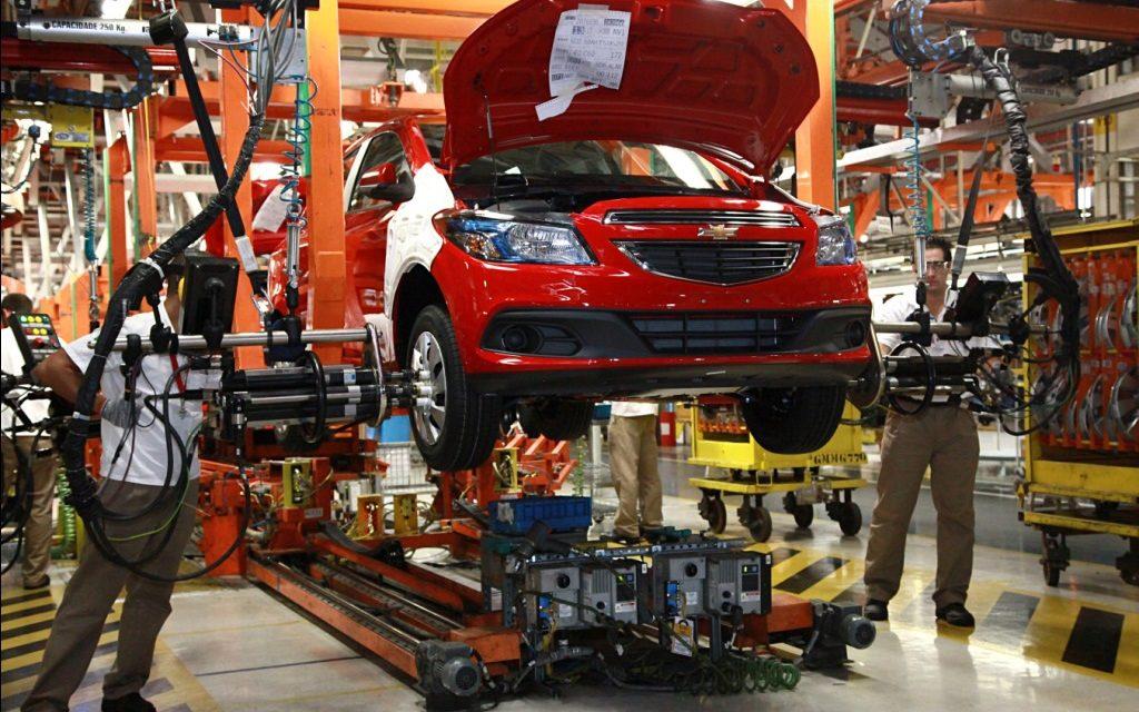 Produção de veículos em maio é a maior em nove meses
