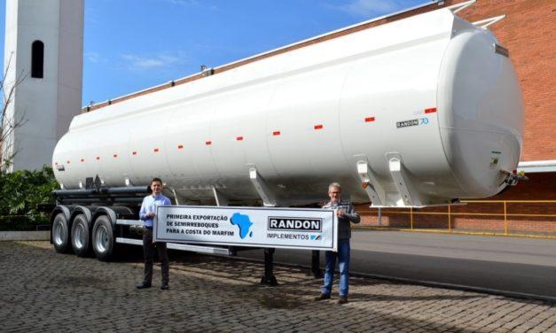 Randon inicia exportações para a Costa do Marfim