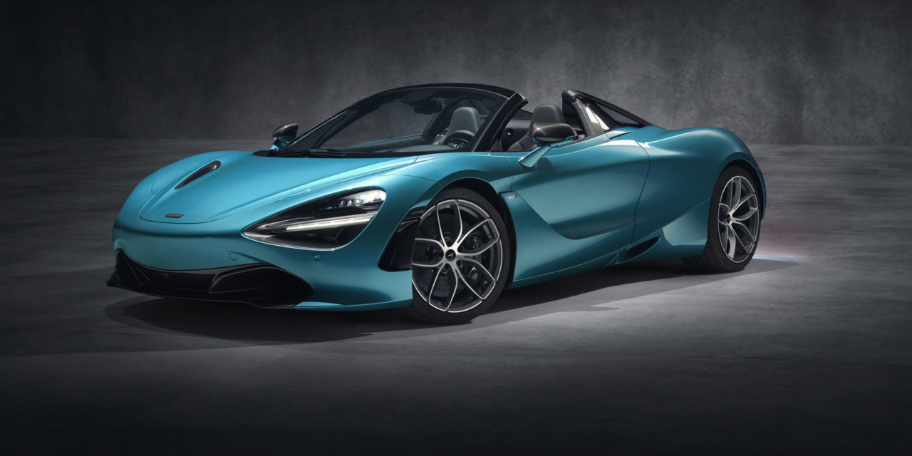 McLaren lança Spider 600 LT e 720 S