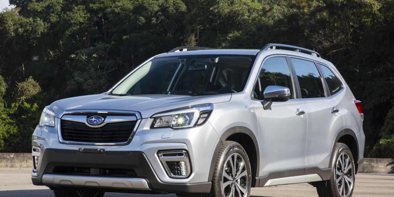 Quinta geração do Subaru Forester ganha em tecnologia