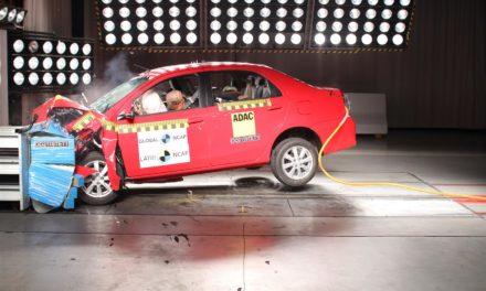 Fiat Argo e Cronos recebem 3 estrelas na proteção a adultos
