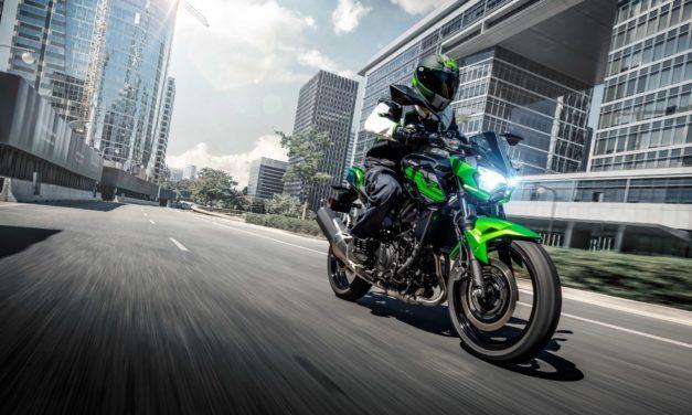 Nova Kawasaki Z400 custa R$ 22.990