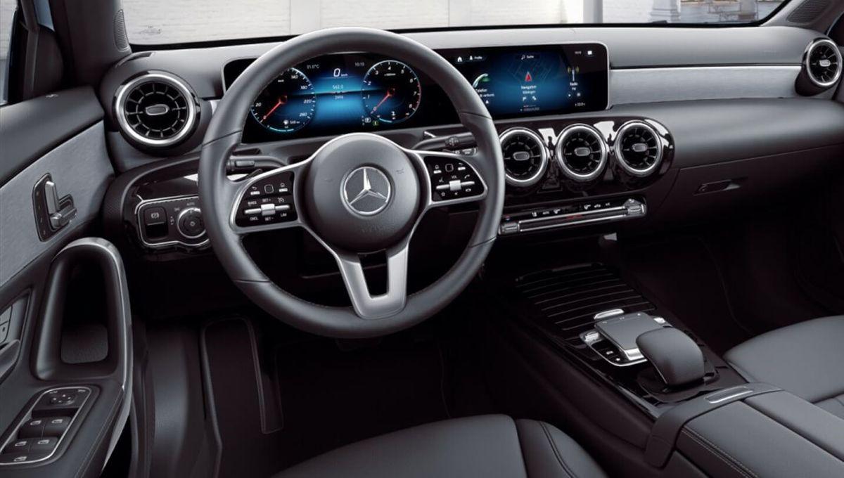 Mercedes-Benz Classe A Sedan painel