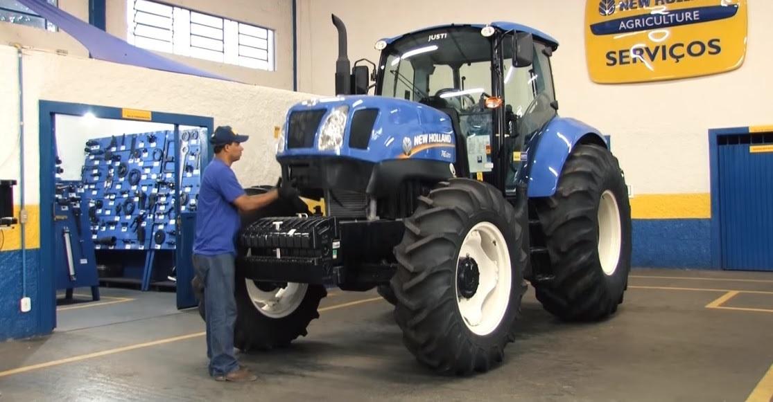 Fenabrave: venda de máquinas agrícolas cairá 10% este ano.