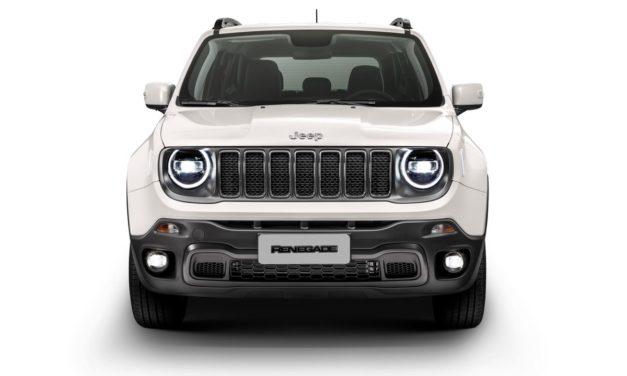 Jeep aprimora pacote de equipamentos do Renegade 2020