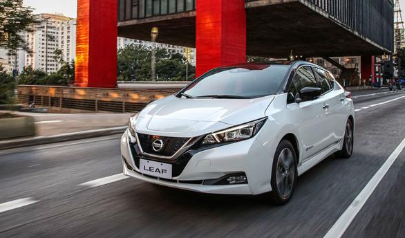 Elétrico Nissan Leaf começa a ser vendido por R$ 195 mil