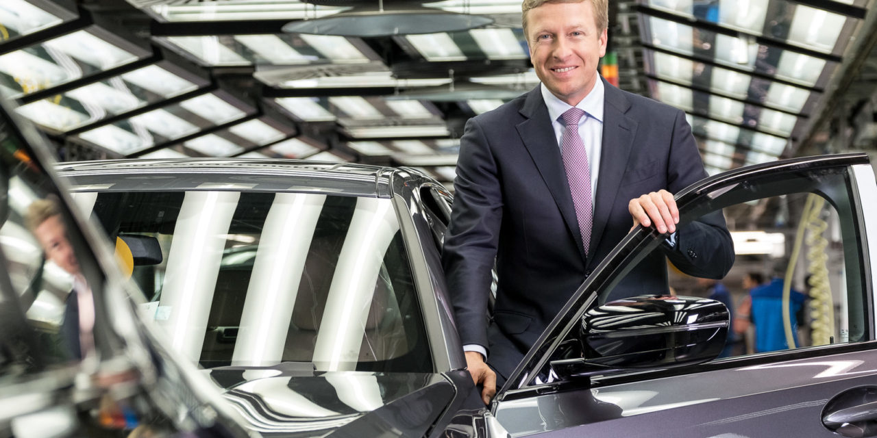 Zipse é o novo CEO do Grupo BMW