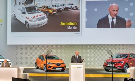 Receita global do Grupo Renault recua 6,4% no semestre