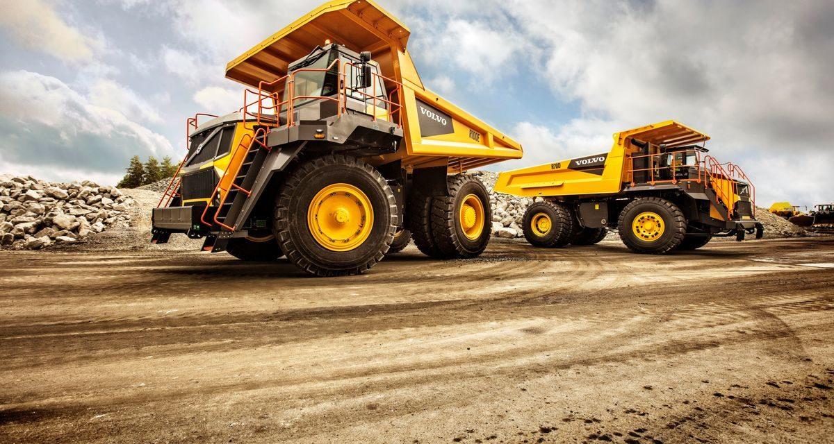 Volvo CE amplia a oferta para o fora de estrada