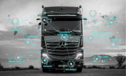 Daimler faz do caminhão uma carteira digital