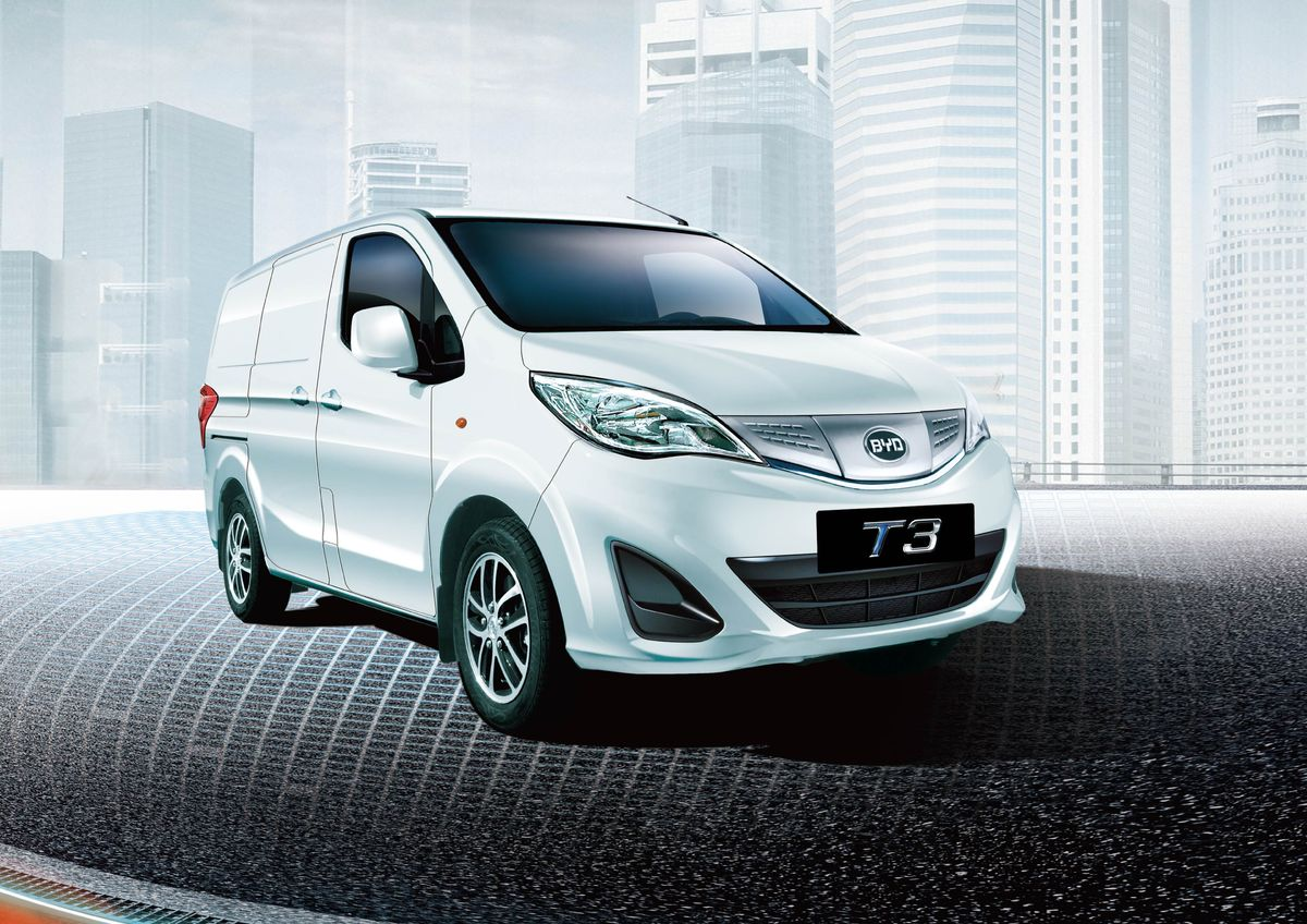 BYD eT3 e-delivery