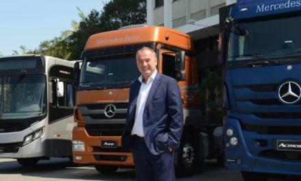 """Schiemer, da Mercedes-Benz: """"Vamos abrir nova década no Brasil""""."""