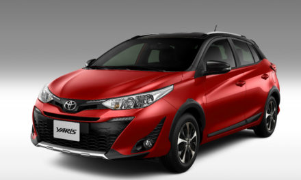 Linha Yaris 2020 com Android Auto e Apple Car Play