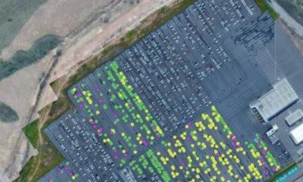 Nissan usa drone para agilizar inventário
