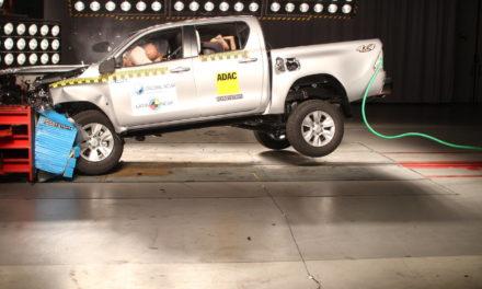 Toyota Hilux e SW4 têm nota máxima em segurança na América Latina
