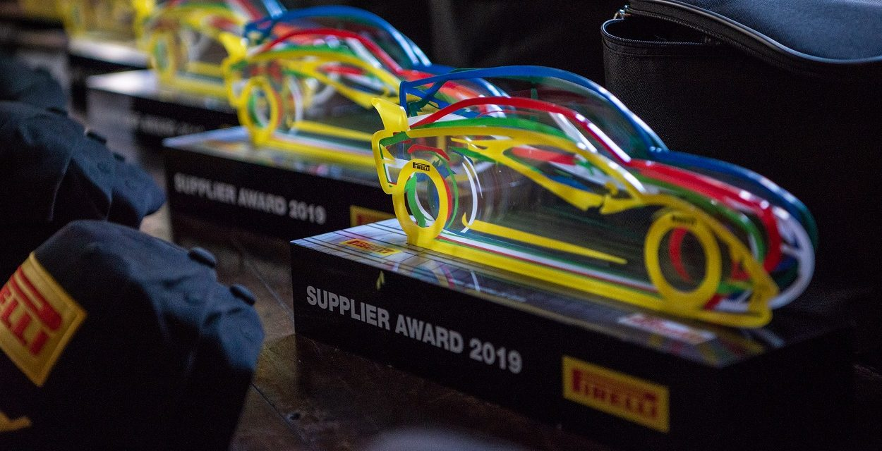 Hevea-Tec premiada em três categorias do Pirelli Supplier Awards 2019