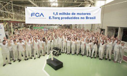 FCA atinge produção de 1,5 milhão de motores E.Torq