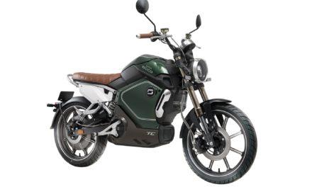 Energie Mobi lança motos Super Soco no salão dos elétricos