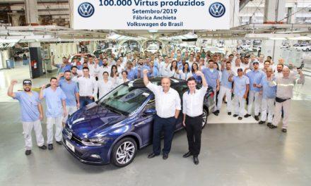 Volkswagen exportará 8 mil Virtus para o México este ano