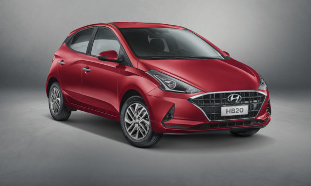 As fotos da nova geração do Hyundai HB20 sem disfarce