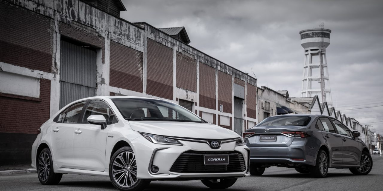 Toyota detém 68,7% do mercado de carros eletrificados