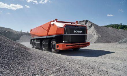 Scania AXL: autônomo e sem cabine.