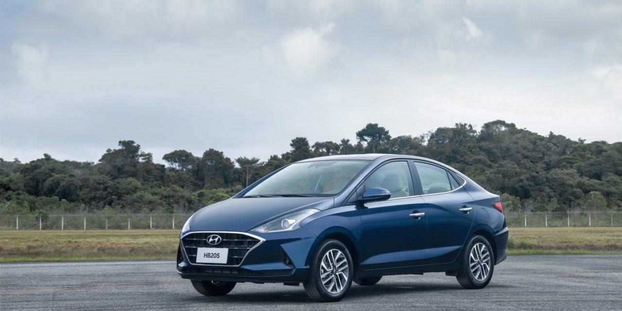 Com capacidade limitada, Hyundai inicia exportações dos novos HB20