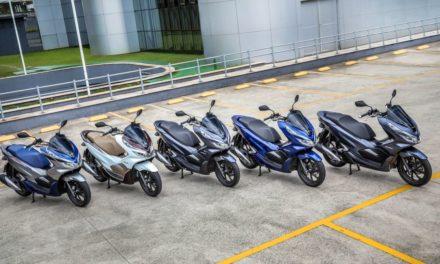 Honda amplia gama da PCX 150