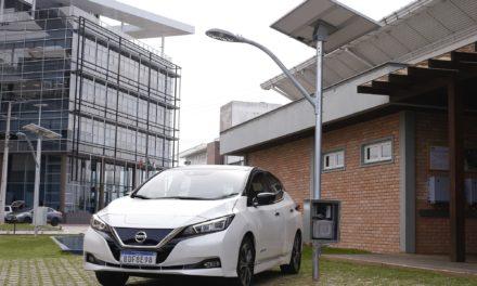 Nissan e UFSC testam reutilização de baterias usadas do Leaf