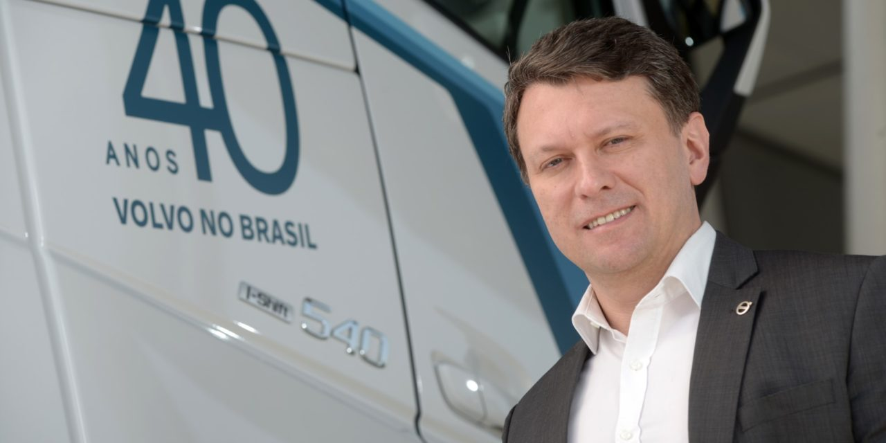 Volvo estuda produzir caminhões elétricos no Brasil