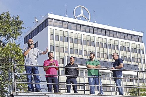Acordo na Mercedes-Benz evita demissões
