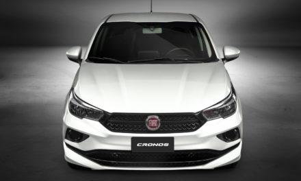 Fiat lança Cronos PCD por R$ 54,6 mil