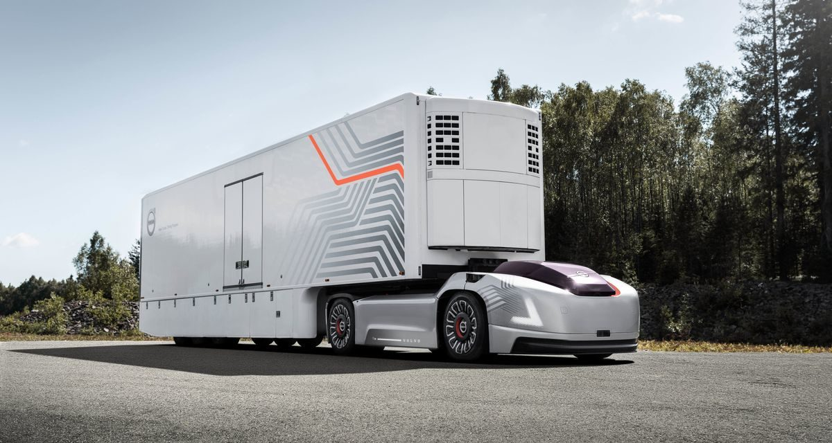 Volvo cria área dedicada ao transporte autônomo