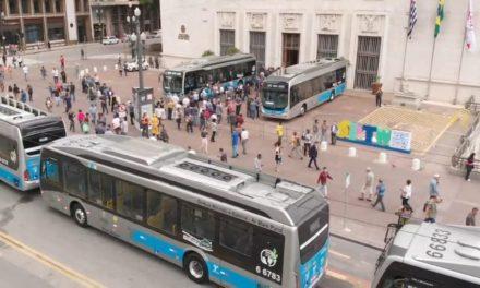 São Paulo ganha frota de ônibus elétrico