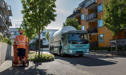 Volvo começa a vender caminhões elétricos na Europa