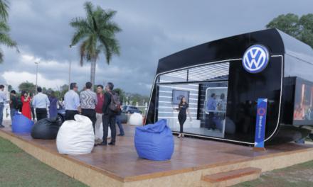 VW estreia concessionária itinerante