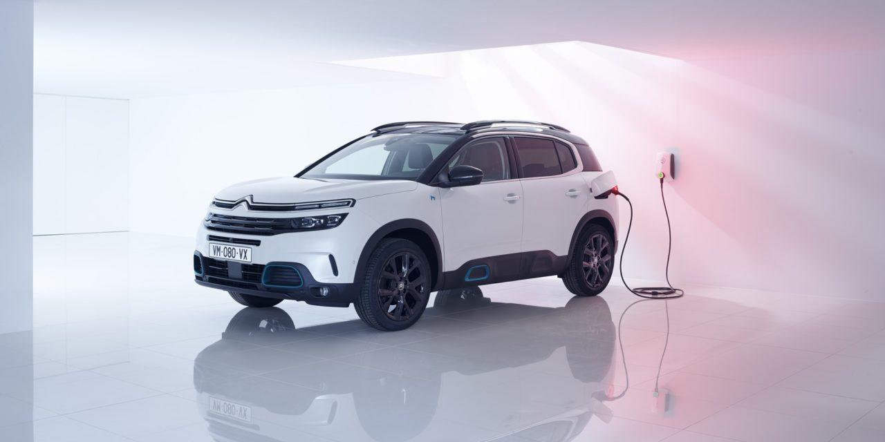 Citroën mostra C5 Aircross Hybrid na Europa