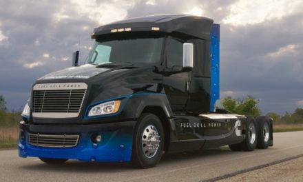 Cummins apresenta caminhão movido a célula de combustível