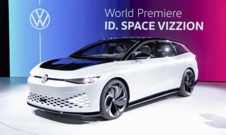 Space Vizzion será a station wagon elétrica da Volkswagen