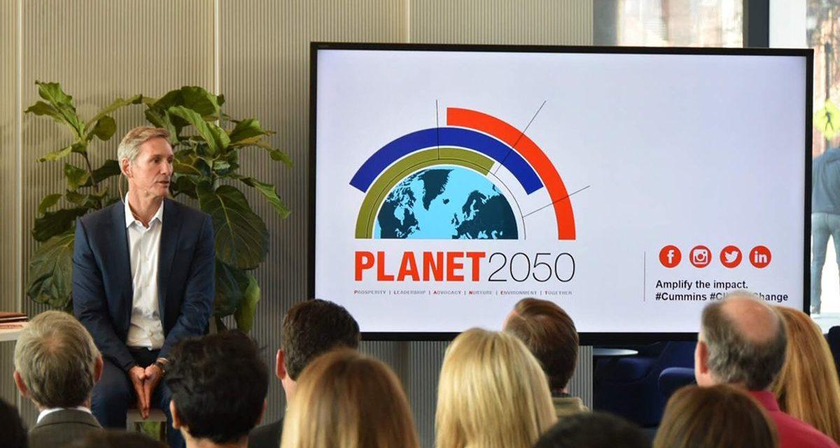 Cummins inicia novo plano estratégico de sustentabilidade