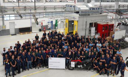 BMW comemora produção de 60 mil motos no Brasil