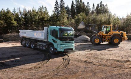 Volvo ensaia eletrificação em caminhões pesados