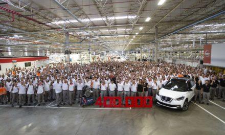 Nissan atinge 400 mil veículos produzidos em Resende