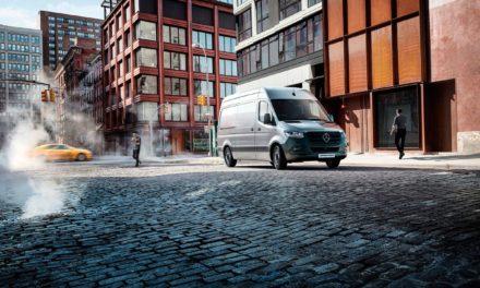 Mercedes-Benz registra recorde nas vendas de Sprinter