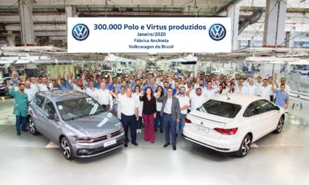Polo e Virtus atingem 300 mil unidades produzidas no País