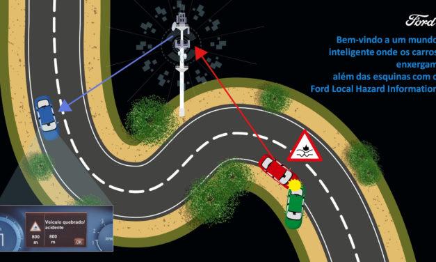 Ford apresenta o LHI, sistema de alerta de ocorrências via nuvem